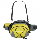 Coolchange 03003 Multifunctional 420 Plaid + 600D Nylon Waist / Single Shoulder Bag - Yellow + Gray