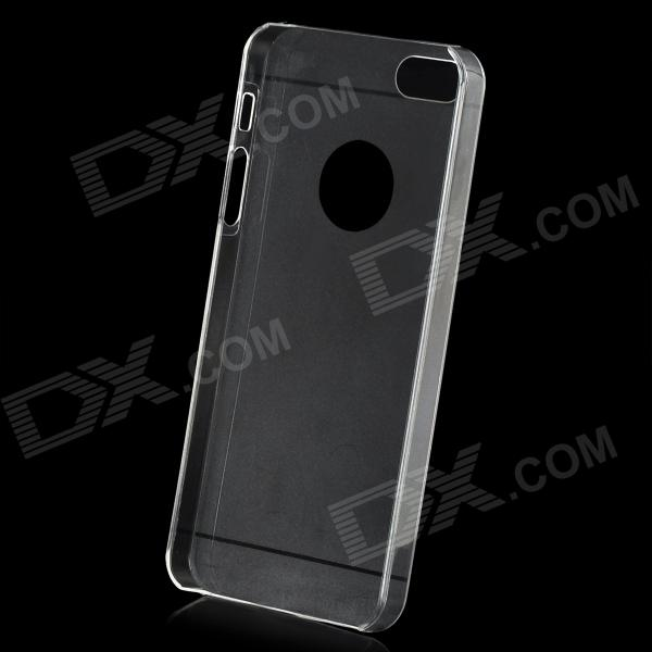 Simple Protective TPU Back Case for Iphone 5 - White pc tpu protective back case for iphone 5 black white