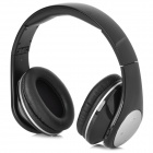 Qiyin BT-990 Stylish Bluetooth V3.0 + EDR Wireless Stereo Headset w/ Microphone - Black + Silver