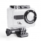 ESER-002 G02 Side Opening Waterproof Protective Case for Gopro Hero1 / Hero2 - Black + Transparent