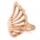 Gold Plating Hollow-out Ring - Golden