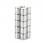 DIY 5 x 5mm Cylindrical NdFeB Magnet - Silver (20 PCS)