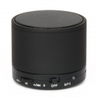 Bluetooth V3.0 2-Channel 3W Speaker w/ Handsfree / TF Card Slot - Black
