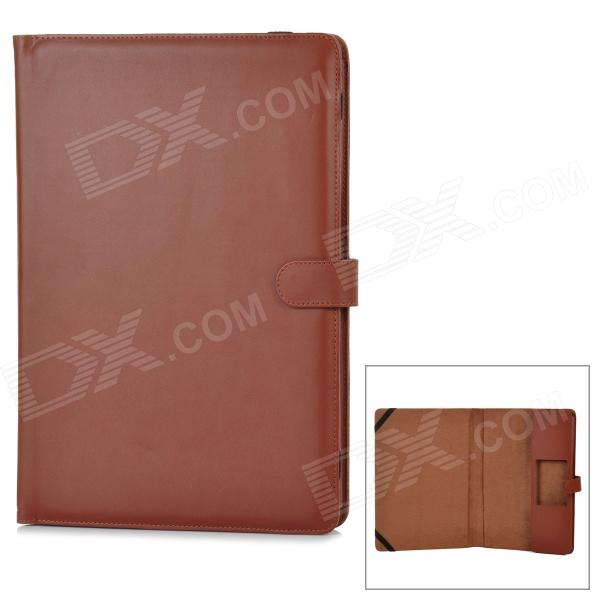 Protective PU Leather Flip Open Case for Macbook Air 13