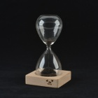 CHEERLINK SL-01 Creative Magnet Hourglass - Transparent + Black