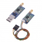 3DR Radio 915Mhz Module w/ Anteena for Telemetry on APM 2 - Blue + Green