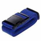 Luggage Belt Strap w/ Quick Release Buckle / ID Tag - Blue + Black (2m)