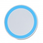 Mikasso T-200 Mini Universal QI Standard Wireless Charger - White + Blue