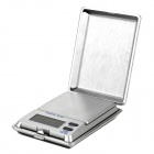 "500-1 Portable Mini 1.5"" LCD Digital Jewelry Scale - Black + Silver (2 x AAA)"