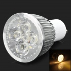 5w 371lm 2968k Warm White Wafer Chip Spotlight Lamp - Silver + White