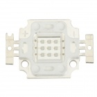 TaiWan New Century JZ-10W-B-FX 10W 270lm Square LED Blue Light Module - White (9~10V)