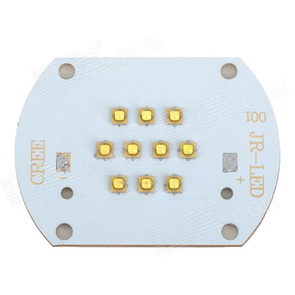 30W 2700lm 6500K Cool White Light 10-LED Metal Plate Module (32~36 V)