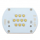 LG 30W 2700lm 6500K White Light 10-LED Emitter Metal Plate - White