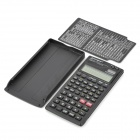 "Porpo YH-2000 2.5"" Screen 11 Digits Function Scientific Calculator - Black"