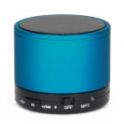 S10 Bluetooth V3.0 2-Channel 3W Speaker w/ Handsfree / TF Card Slot - Blue + Black