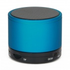 YX-S10 Bluetooth V3.0 2-Channel 3W Speaker w/ Handsfree / TF Card Slot - Blue + Black