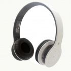 MINIX NT-1 Wireless Bluetooth V3.0 + EDR Stereo Headset w/ NFC / Mic / Multi-Link - Black + White