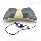 PL-818 Car Electric Massage Headrest - Grey + Beige + White