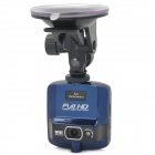 "2.4"" TFT 5.0MP CMOS HD 1080P Wide Angle Car DVR Camcorder w/ 1-LED / G-Sensor - Black + Blue"