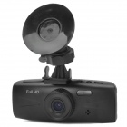 "2.7"" TFT 5.0MP CMOS HD 1080P Wide Angle Car DVR Camcorder w/ 2-LED / G-Sensor / TF - Black"