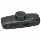 "2.7 ""TFT 5.0MP CMOS HD 1080p Wide Angle Car DVR Camcorder w / 2-LED / G-Sensor / TF - Preto"