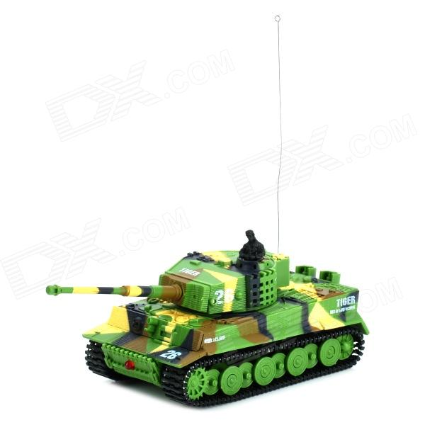 CHANGCHENG 2217 1: 72 2.5 Channel R/C Battle Tank Model Toy - Camouflage