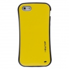 NEWTOP Small Pretty Waist Style Protective Silicone Back Case for Iphone 5 - Yellow + Black