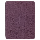 Honeycomb Texture Protective PU Leather Case Cover Stand for Ipad 2 / 3 / 4 - Purple