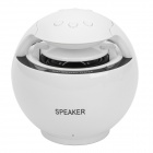 D600A Multifunction MP3 Player Speaker w/ FM / TF / USB - White + Black