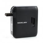 MERCURY MW300RM Wi-Fi 802.11 b/g/n 300Mbps Mini Portable Wireless Router - Black (US Plug)