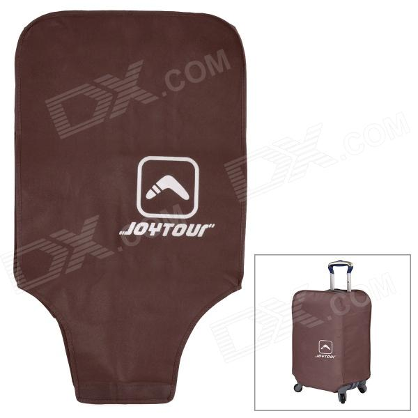 Joytour JT2020 Convenient Non-woven Fabric Protective Cover for 26 Suitcase - Coffee