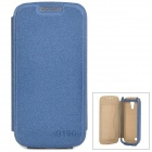 Elegant Protective PU Leather Case for Samsung i9190 - Blue