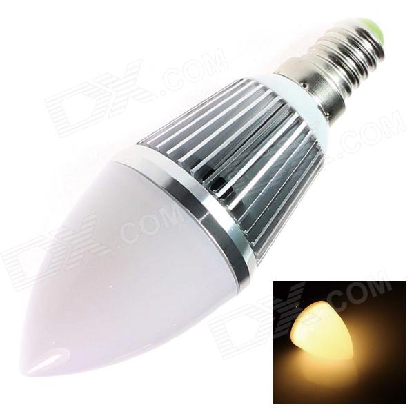 GCD 22X E14 3W 240lm 3500K 6-SMD 5630 LED Warm White Energy Saving Light Bulb - White (AC 85~265V)
