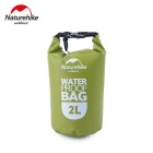 Naturehike-NH Outdoor Waterproof Drifting Bag - Green + Black (2L)