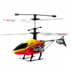H.C.W HCW537 Rechargeable 2.4GHz 4-Channel R/C Helicopter w/ Gyroscope - Yellow + Red + Black