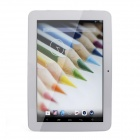 "ANDRORA Pfingstrose 10.1 ""kapazitiver Android 4.2 Quad Core Tablet PC w / 1GB RAM, 16GB ROM - Weiß + Silber"