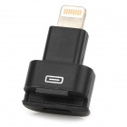 8-Pin Lightning Male to Female Adapter for iPhone 5 / iPad 4 / Mini - Black