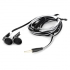 OMASEN OM-M6 Stylish Stereo In Ear Earphone w/ Microphone - Black + White (110 CM)