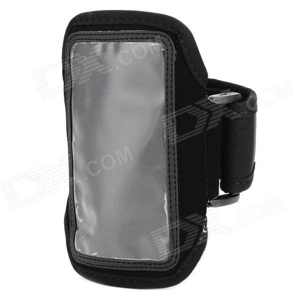 Outdoor Sports PVC + Neoprene Armband for Samsung Galaxy Ace 3 / S7272 / S7275 / S7270 - Black