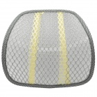 Breathable Mesh Waist Support Cushion for Home / Office / Car Seat Chair - Gray