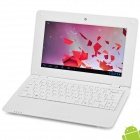 "RUNN710C 10"" Android 4.0 Netbook w/ RJ45 / Wi-Fi / Camera - White"