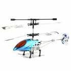 H.C.W HCW522 Rechargeable IR 2-Channel R/C Helicopter w/ Remote Controller - Blue + Red