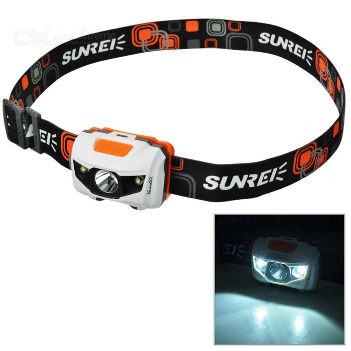 Sunree Youdo2 122lm 7-Mode White Sport Headlamp w/ Cree XR-E R3 + 2-LED (3 x AAA) налобный фонарь sunree 2 sports2