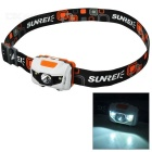 Sunree Youdo2 Cree XR-E R3 + 2-LED 122lm 7-Mode White Sport Headlamp (3 x AAA)