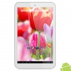 "ALLFINE FINE8 Style 8.1"" Quad Core Android 4.2.2 Tablet PC w/ 1GB RAM / 8GB ROM - White + Silver"
