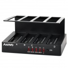 "MAIWO K305BU2 4-Slot USB 2.0 + SATA 2.5"" 3.5"" HDD Dock Station - Black"