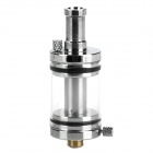 X8 Stainless Steel Atomizer for Electronic Cigarette - Silver + Black + Transparent