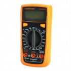 "LODESTAR LD3802A Handheld 2.0"" LCD Digital Multimeter / Voltmeter / Thermometer- Orange + Deep Grey"