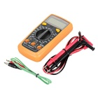 "Lodestar LD3802A Handheld 2,0 ""LCD digitaalinen Yleismittari / Jännitemittari / Thermometer- Orange + Deep Harmaa"
