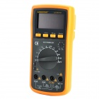 "LODESTAR LD9807B Handheld Auto Range 2.7"" LCD Digital Multimeter w/ Buzzer - Orange + Deep Grey"